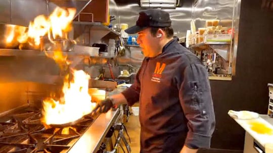 Chef Junior Merino of M Cantina Latin restaurant in Dearborn.