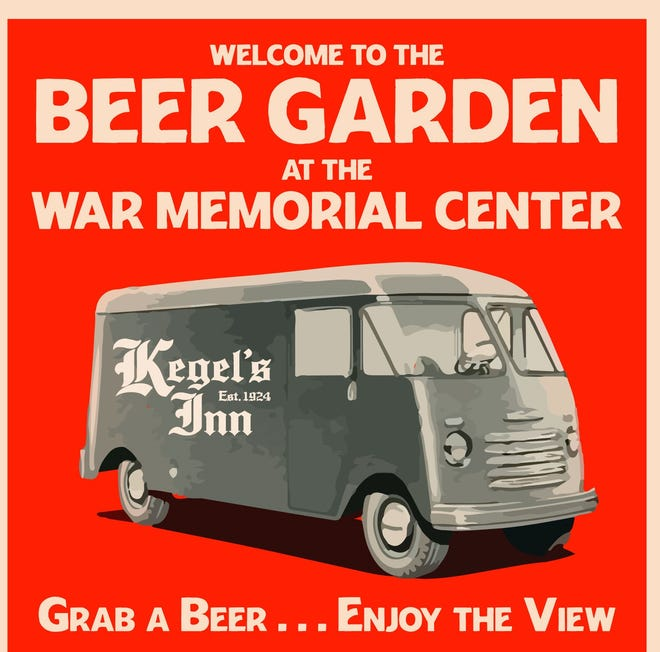 Starting July 2 and continuing into October, Kegel's Inn of West Allis will operate a beer garden in the north lot at the Milwaukee County War Memorial Center at the lakefront.