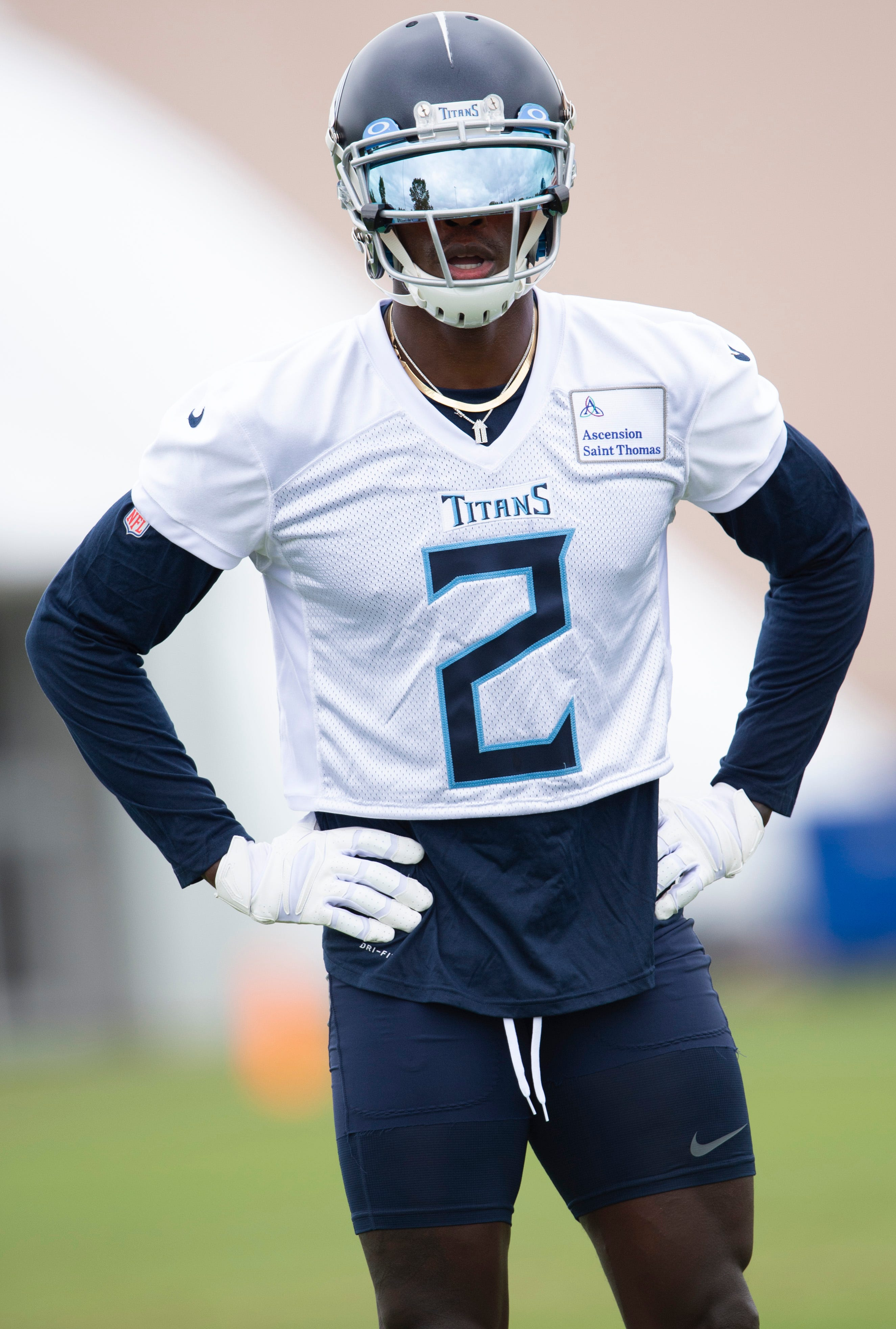 Julio Jones explains why he chose new number after being traded to Titans