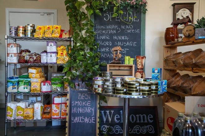 The Transilvania European Food Store in Palm Springs has a large variety European foods in stock, June 10, 2021.