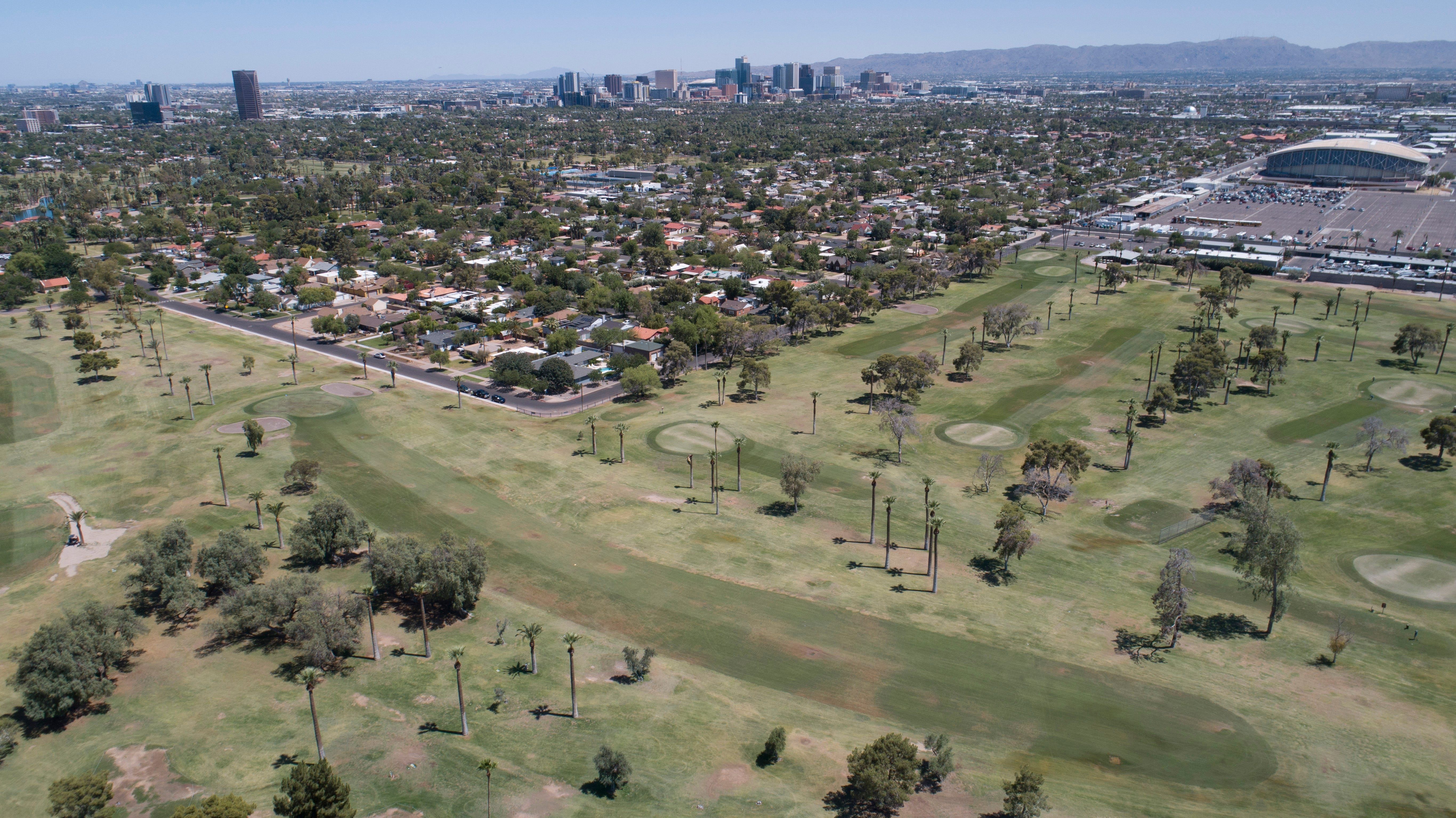 Phoenix's Encanto Golf Course uses groundwater and surface water