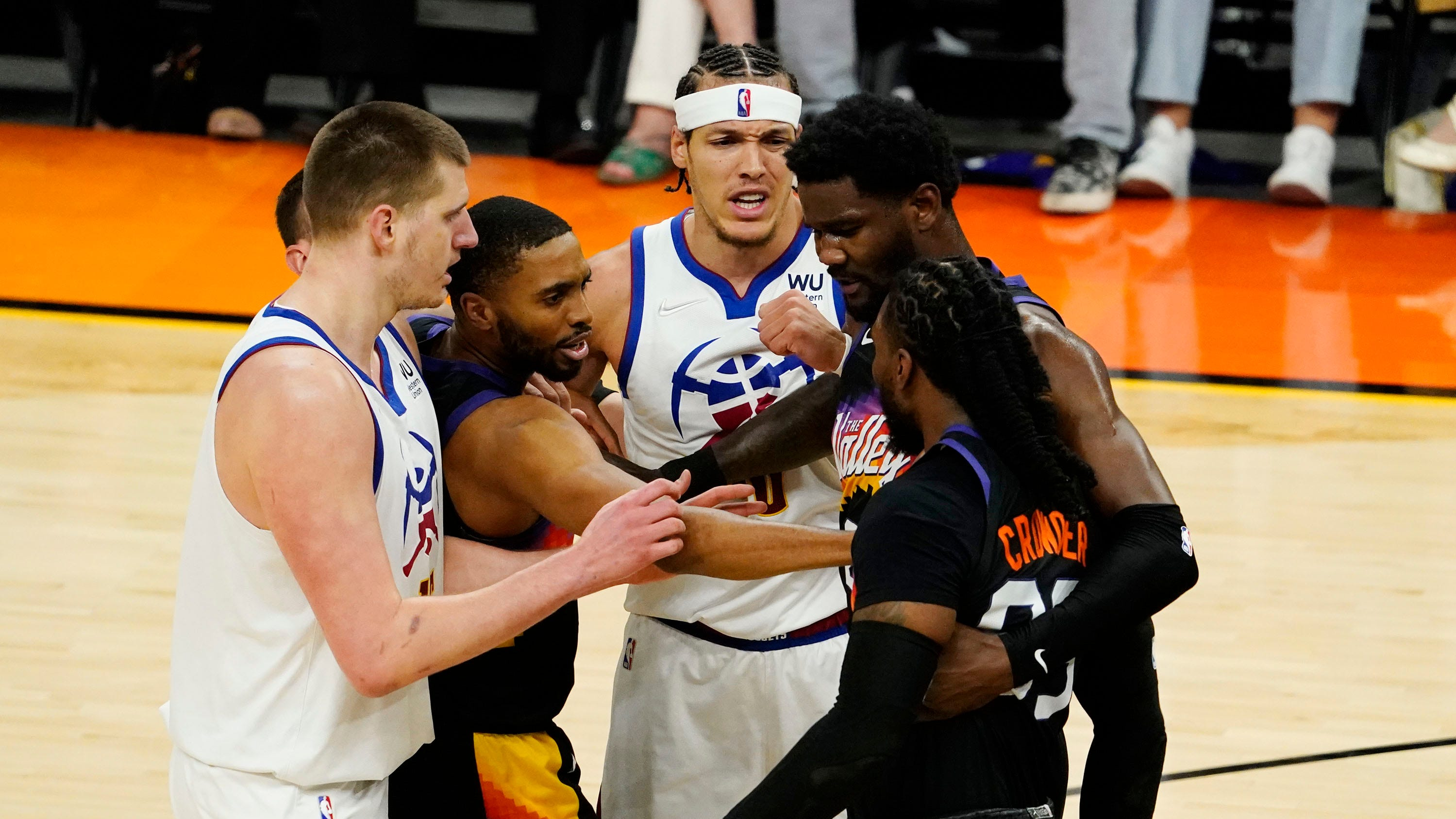Jae Crowder ready to 'salsa' to NBA title with Phoenix Suns, fans
