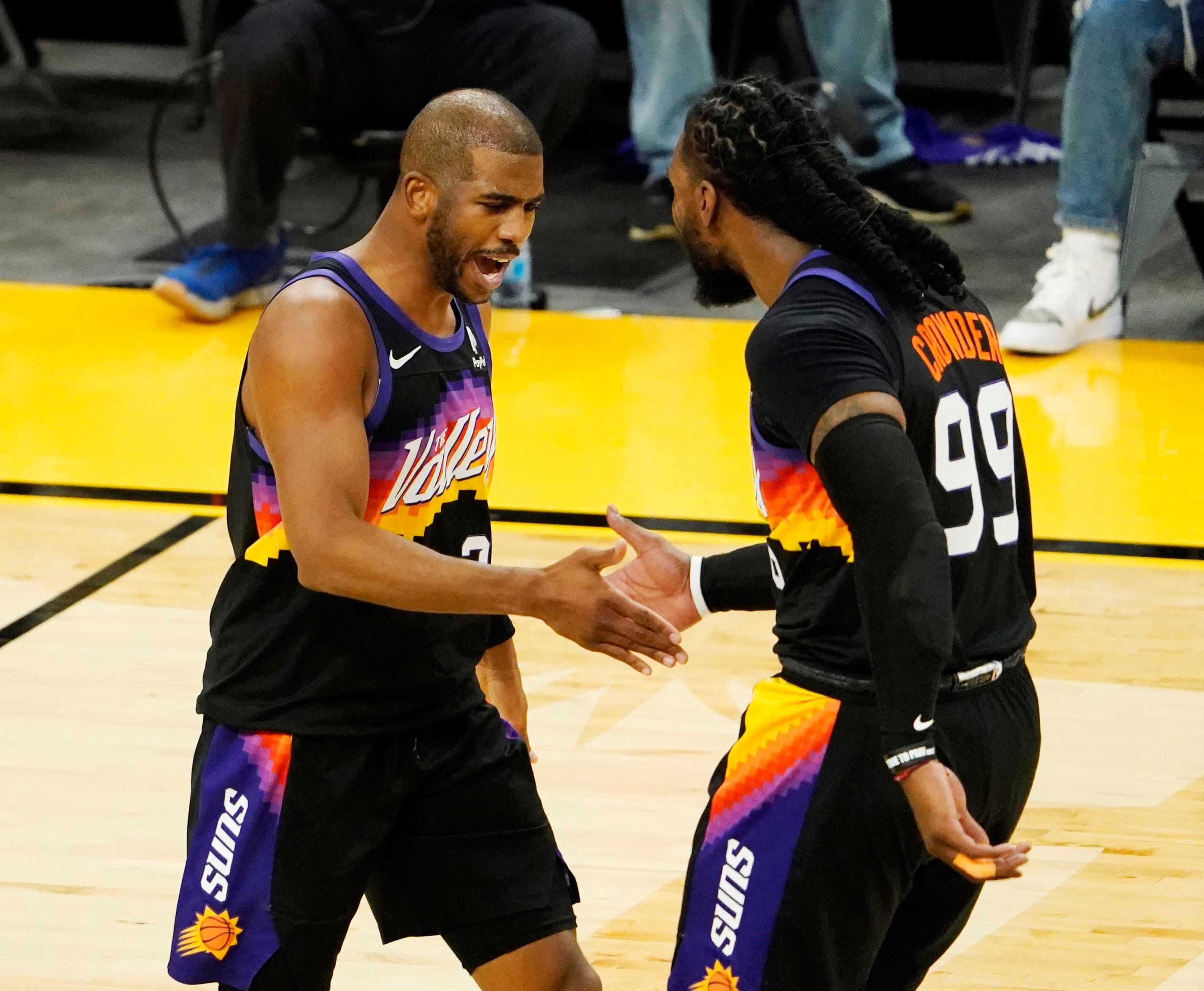 Suns' Chris Paul status for WCF unclear after being placed under NBA's health and safety protocols