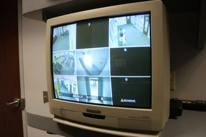 """The Ottawa County Municipal Court's old and """"antiquated"""" security system only covers a few areas of the building. The court was recently awarded grant funding to upgrade the system with 13 new cameras being installed this summer."""