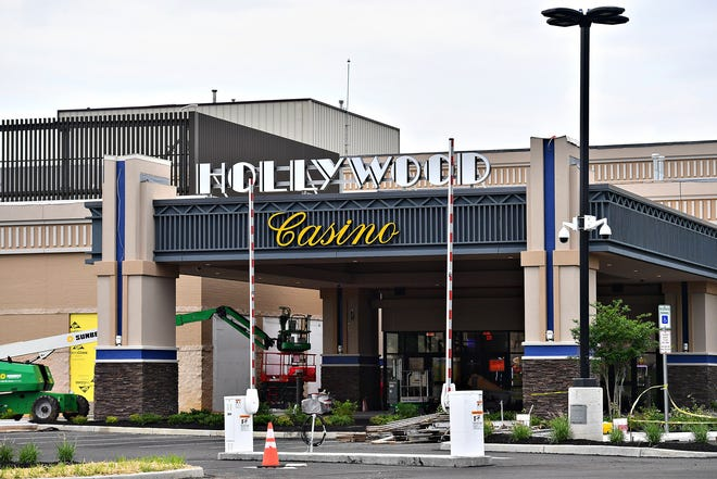 Hollywood Casino, set to open in August, is shown in Springettsbury Township, Thursday, June 10, 2021. Dawn J. Sagert photo