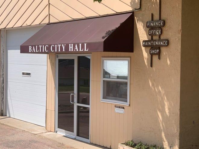 Baltic, S.D. City Hall building.