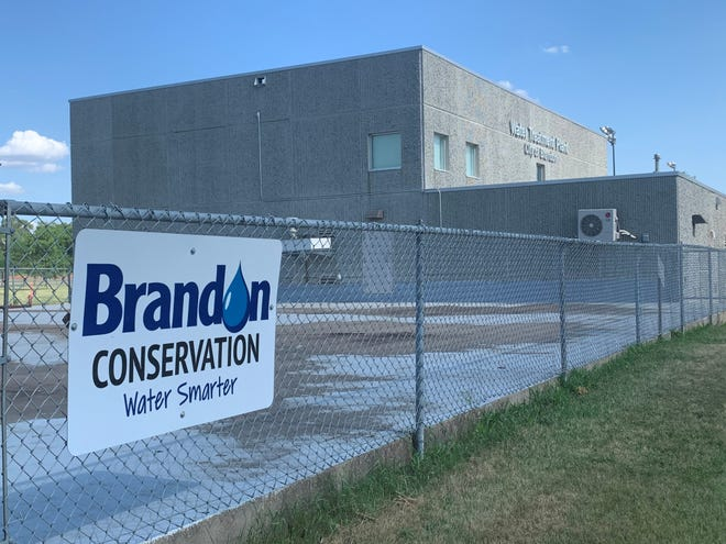 The Brandon Water Treatment Plant on Wednesday, June 9, 2021.