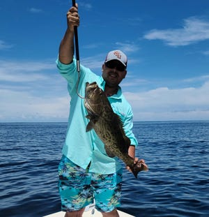 Lot's of great catches recorded over the weekend. Jon Mundinger shows his first ever Gag Grouper caught this past week.