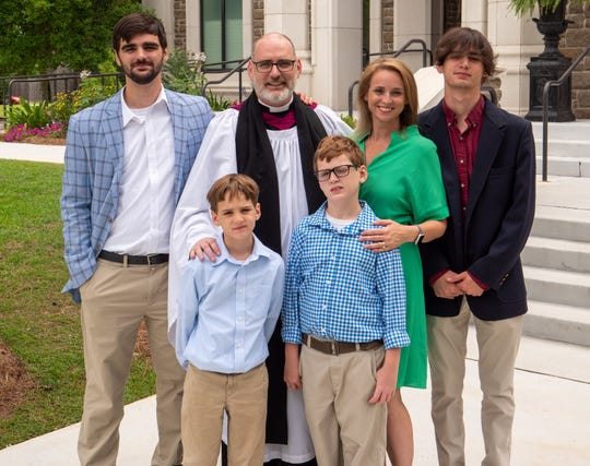 Father Marcus Kaiser and his wife, Kimberly, have four sons, 18, 16, 9, and 8. He will be installed as the new Dean and Rector of St. Peter's Anglican Cathedral on June 20, 2021.