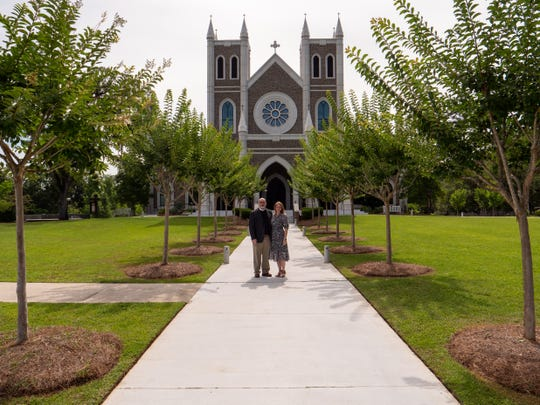 St. Peter's Anglican Church off Thomasville Road, which has  24 spires, five Celtic crosses, soaring stained glass panels and a bell tower, will induct Father Marcus Kaiser as the new Rector and Dean on Sunday, June 20, 2021.
