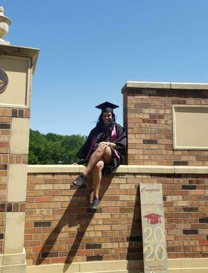 Kayla Khan, a 2020 graduate of MSU Texas, said the belated graduation ceremony was a special celebration.