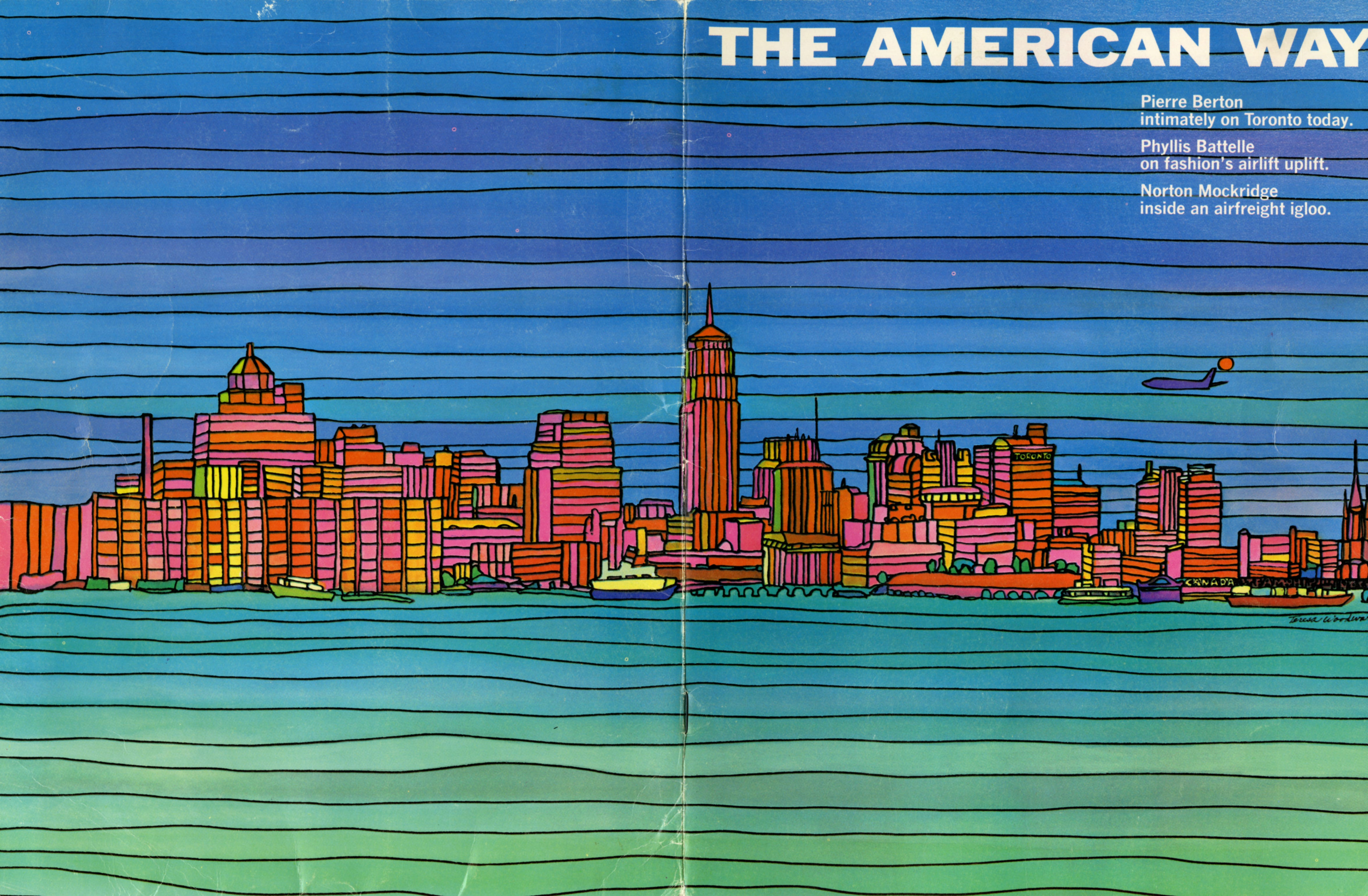 American Airlines joins Delta and Southwest in terminating it's magazine, American Way.