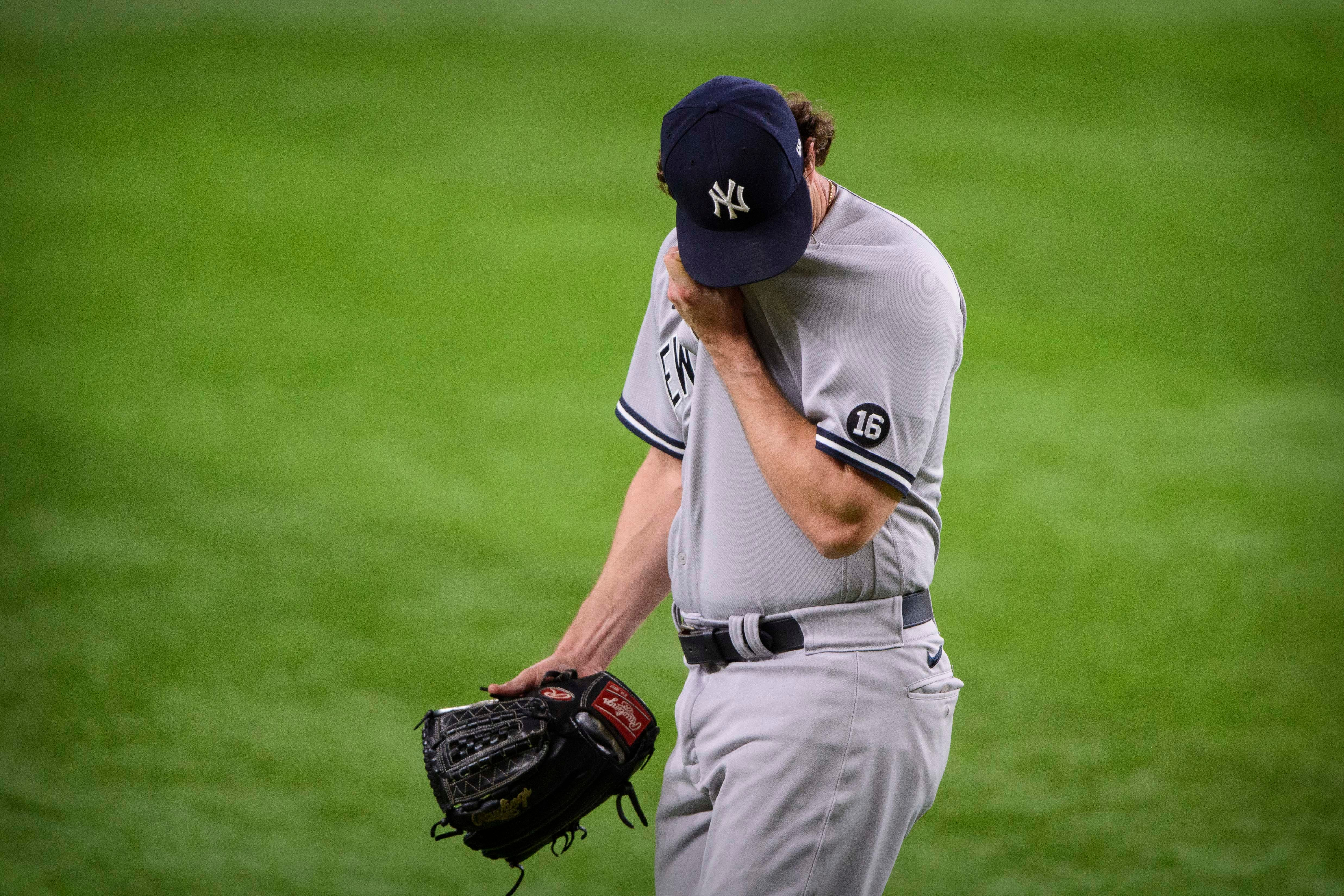 Why Gerrit Cole's awkward presser encapsulates a much bigger problem for MLB