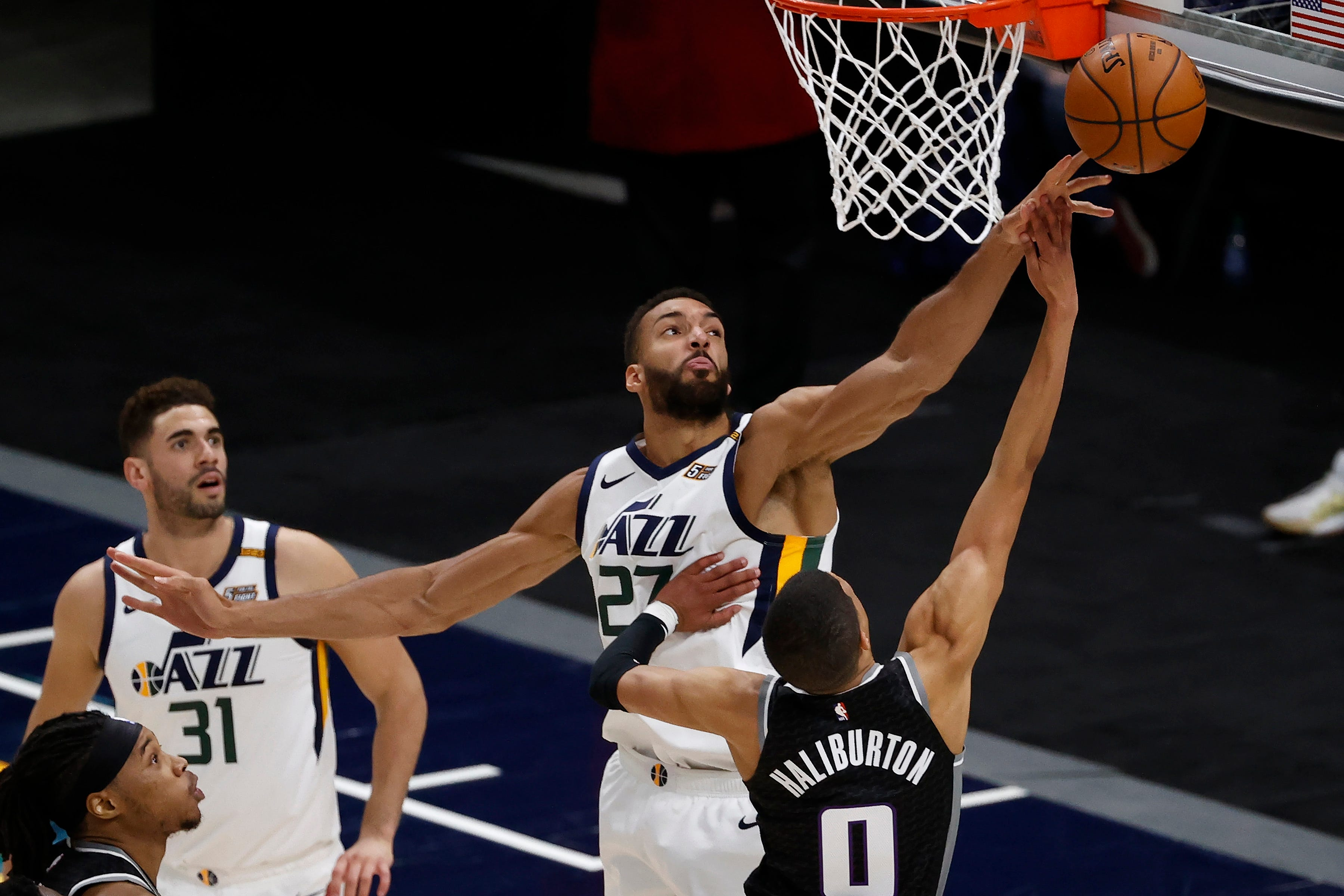Utah Jazz center Rudy Gobert wins NBA Defensive Player of the Year for third time
