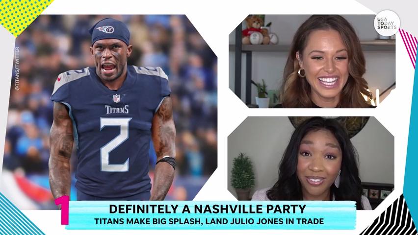 Are the Titans legit Super Bowl contenders with Julio Jones?