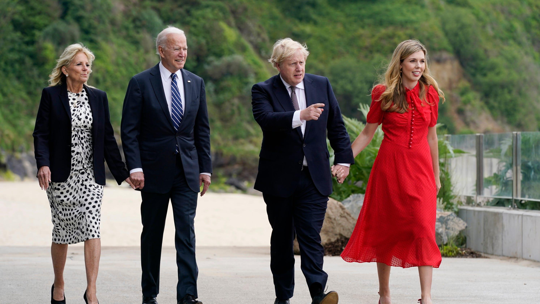 4 takeaways from Joe Biden's first meeting with Boris Johnson