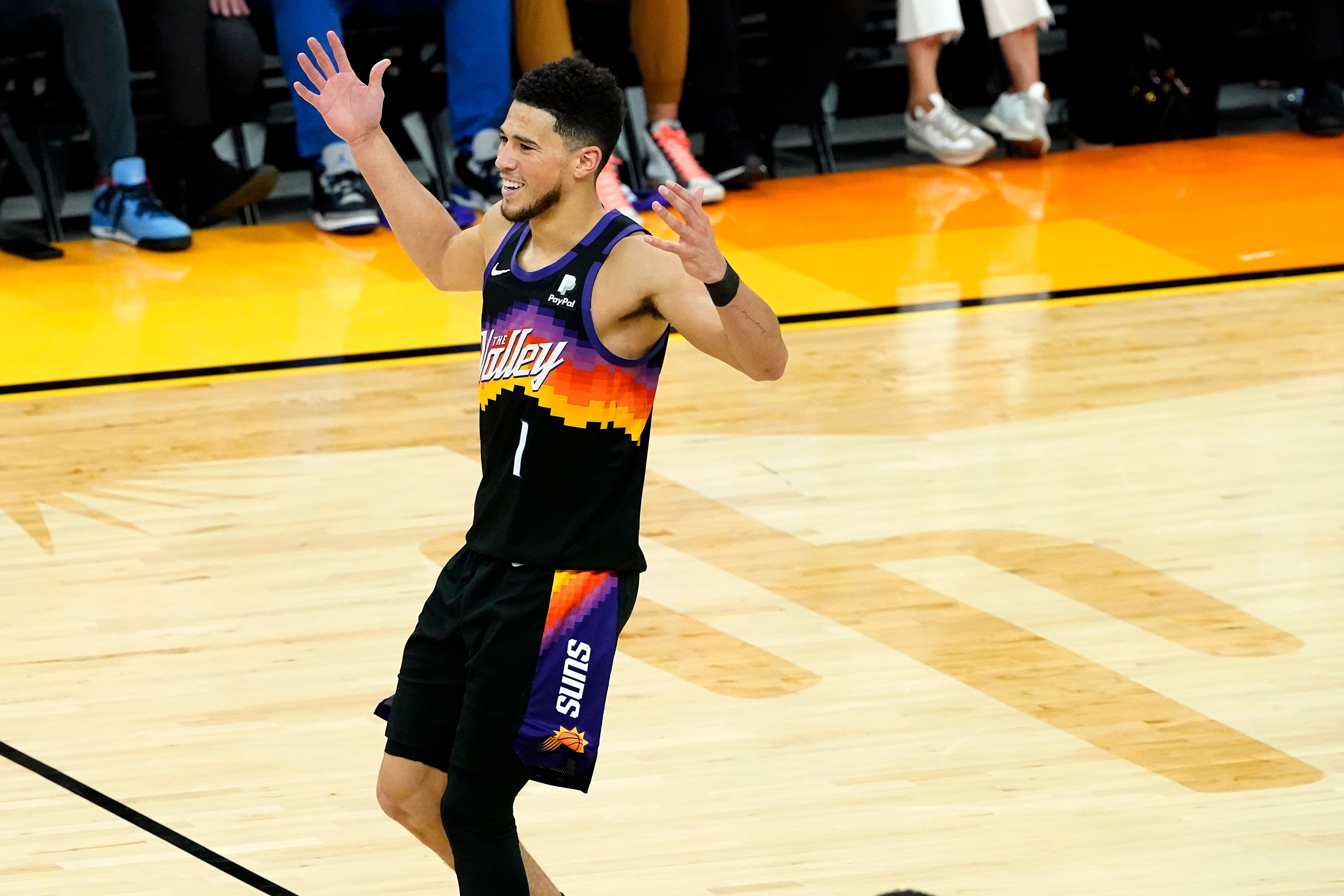 Suns embarrass Nuggets in Game 2 rout for 2-0 series lead in NBA playoffs