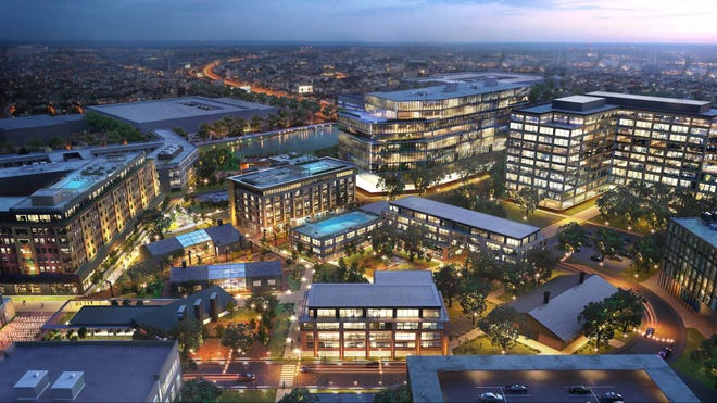 The Round Rock City Council voted unanimously Thursday to approve planned unit development zoning for the District, a 65.5-acre mixed-use project.