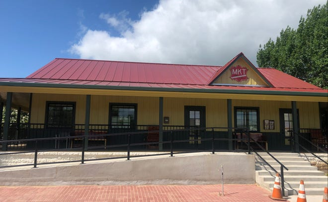The new building housing the Smithville Area Chamber of Commerce, and the city's visitor center and railroad museum, is pictured in Smithville, near James H. Long Railroad Park. The Chamber of Commerce moved into the new space in May.