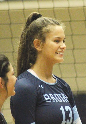 Mia Otten is set to return as a four-year starter for the Bartlesville High School volleyball team.