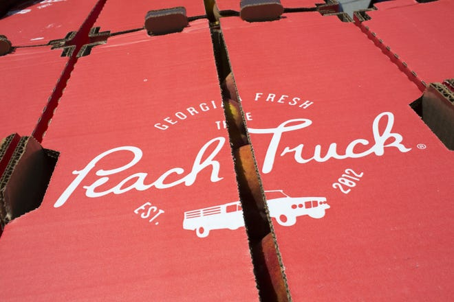 The Peach Truck's first trip to central Ohio will take place next week. Orders must be placed online in advance.