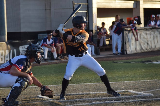 Leesburg's Chase Malloy gets set for the pitch during Thursday's FCSL game against Winter Park at Orlando Bishop Moore Catholic High School. [COURTESY / LEESBURG LIGHTNING]