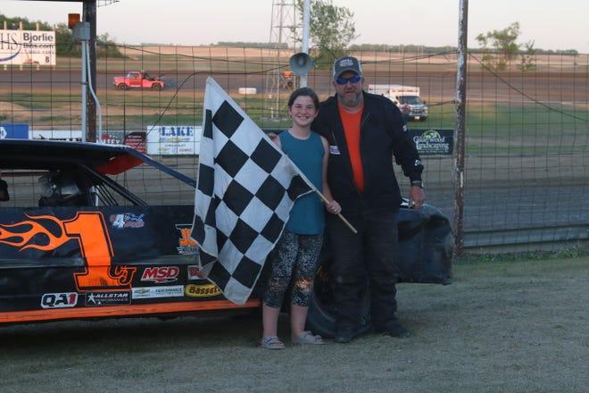 Winners of the Devils Lake Speedway Race