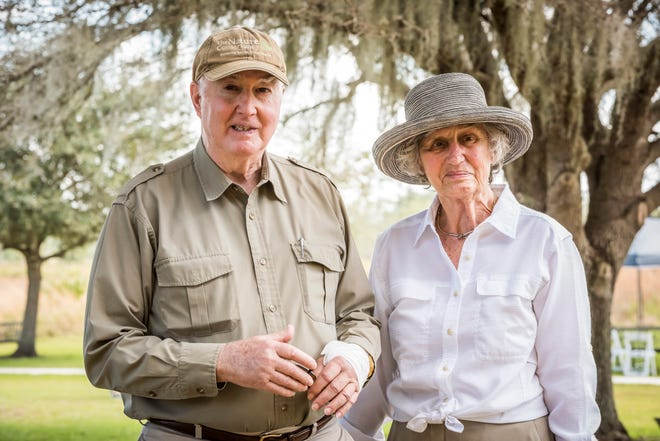 Joe and Renate Hixon, at The Nature Conservancy's Disney Wilderness Preserve, have donated $3 million to launch the Hixon Environmental Stewardship Program and a supporting endowment, with the goal of creating the next generation of conservationists.