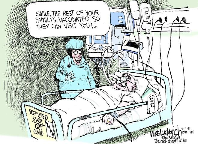 Today's editorial cartoon (June 13, 2021)