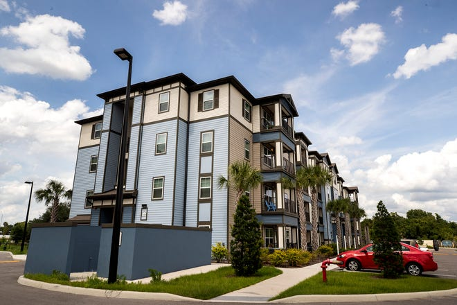 Aida Palms, which opened in 2017, offers affordable apartmentts in Lakeland. Building more affordable housing in the city is a top priority of the Lakeland City Commission.