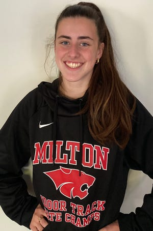 Norah Affanato of Milton High has been named to The Patriot Ledger All-Scholastic Girls Cross Country Team.