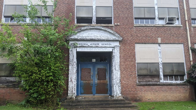 Virginia Avenue School on Diamond Street experienced a fire on Friday 25, 2021. The school has been closed since 2005 and is slated for a $25 million redevelopment.