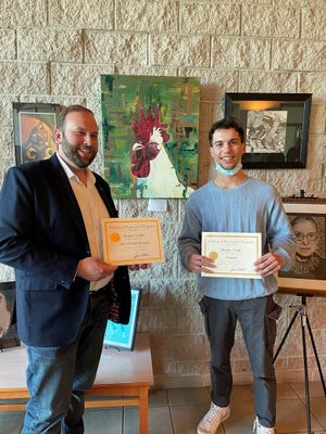 Congressman Jason Smith announced Skyler Todd from Thayer High School as the winner of the 2021 Congressional Art Competition.