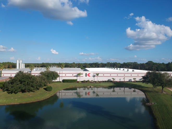 King Plastic Corp., which was founded in Venice in 1968 and moved to North Port in 2001. The facility expanded to its current 250,000-square-foot size in 2018, which coincided with the 50th anniversary for the family-owned company.