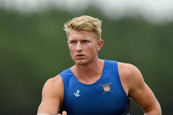 Sarasota's Clark Dean will compete in rowing in the men's four. Heats begin July 24 and the finals are July 28.