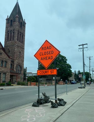 Court Street in the Sault is seeing major construction upgrades. South Court Street is going to undergo construction next week, over a week ahead of schedule.