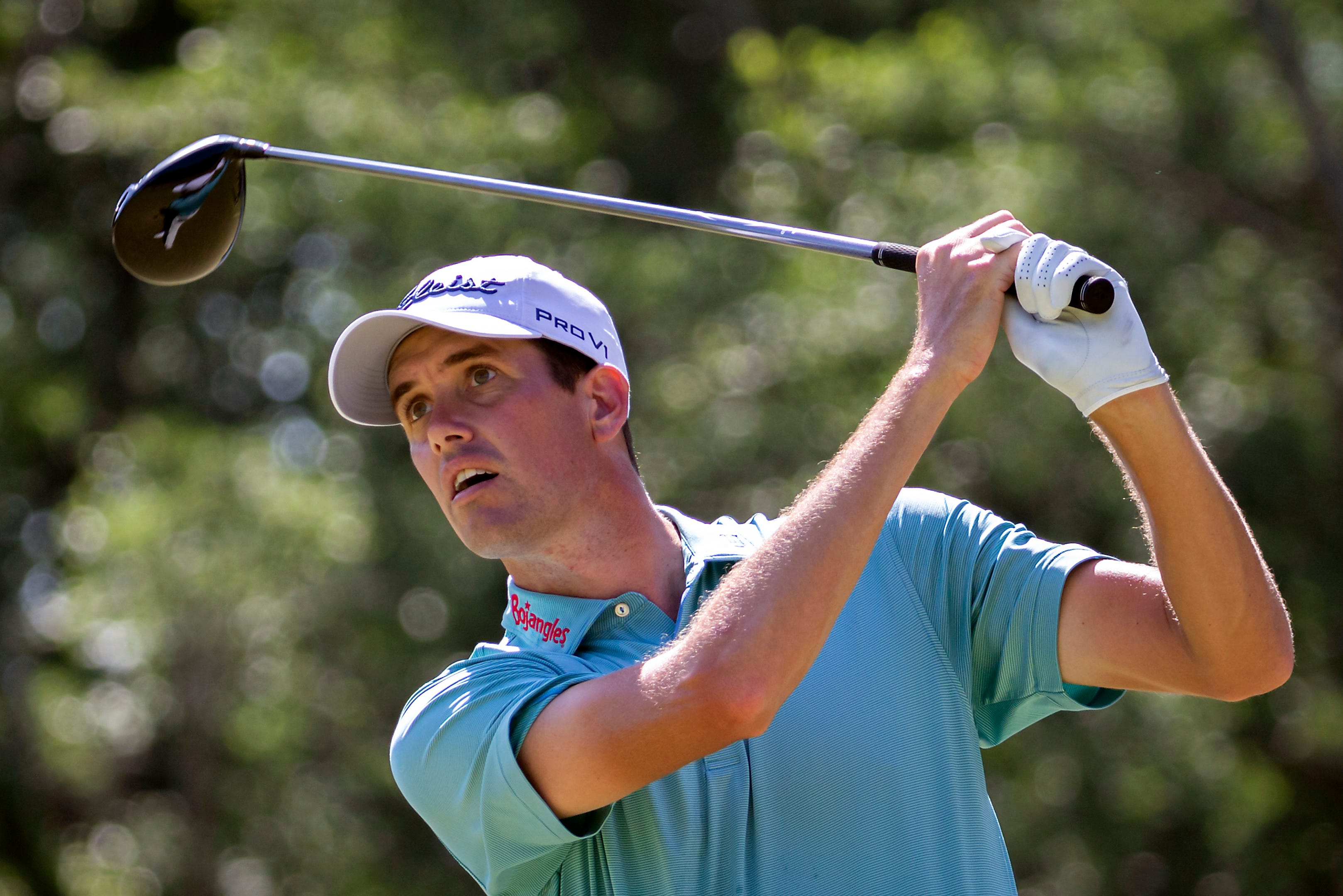 PGA Tour golfer Chesson Hadley of Georgia Tech is contending at Congaree