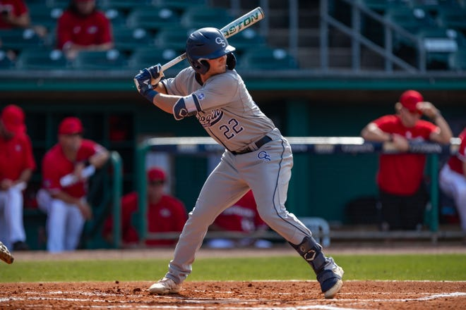 Georgia Southern shortstop Austin Thompson, who starred at South Effingham High School, had a solid senior season, compiling a .281 batting average with five home runs and 34 runs batted in.