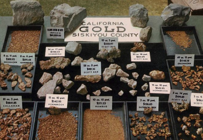 A majority of Siskiyou County's historic gold collection was stolen in a brazen 2012 heist. None was ever recovered.