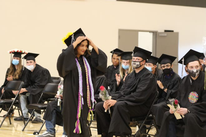 The Discovery High School graduation ceremony was held on Wednesday at the new gym at Yreka High School.