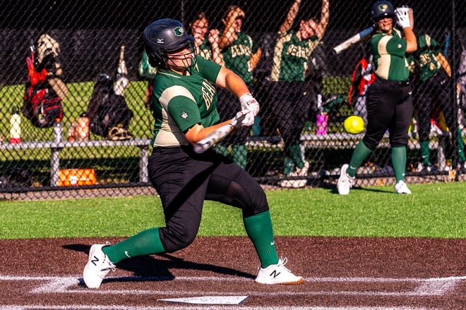 In 12 games, GNB Voc-Tech's Marilena Tsonis hit .550 with eight home runs and 27 RBI.