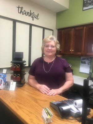 Karen Shepherd is the manager of the gift shop.