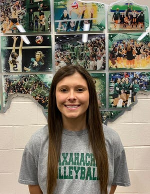 Finley Junior High coach Lyndsey Gonzales has been named to join the staff of longtime volleyball coach Sandy Faussett-Stoops at Waxahachie High School. Gonzales is a 2015 WHS graduate who played for Faussett-Stoops for four years.