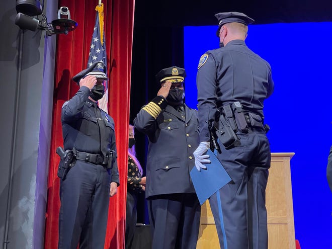The Cambridge Police Department announced that 22 new police officers graduated from the third Cambridge-Northeastern Police Academy class following a special graduation ceremony that was held on the Northeastern campus.