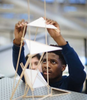 CambridgeSeven, a Cambridge-based, internationallyrecognized architecture and design firm, announced the winner of its fourth annual STEAM scholarship,GreggyBazile, a senior at Cambridge Rindge and Latin School.