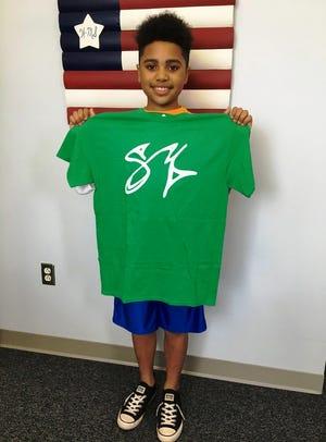 Caleb Vieira is the Wareham Middle School May Scotty Monteiro Jr. award winner.
