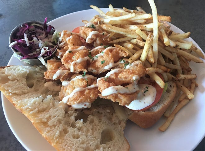 """The Enquirer's Bill's Bites visits South Kitchen in Richland which features """"low country"""" favorites like shrimp po'boy."""