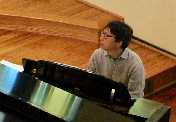 Jee Han Park, a pianist and organist at Madison Avenue Christian Church in Covington, was struck by a car and killed while he was walking along Beechmont Avenue in Anderson Township on Wednesday night.