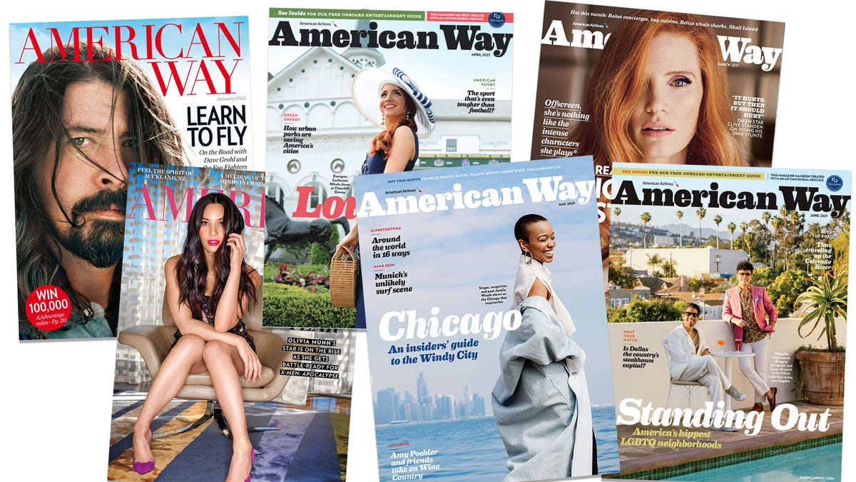 End of an era: American will drop its in-flight magazine 2
