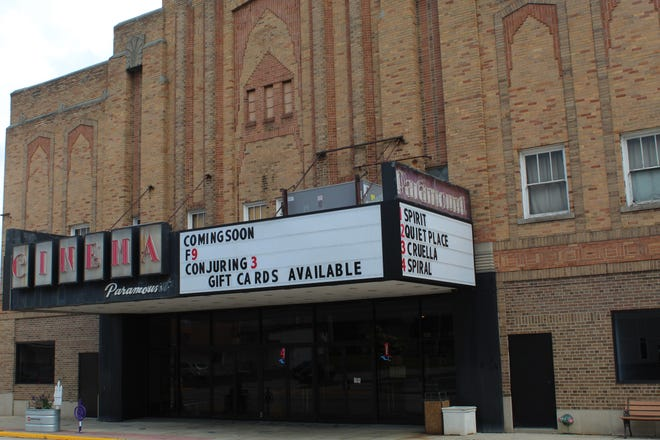 """Owners of Paramount Cinema on South Front Street hope new movie releases this summer such as """"Fast and Furious 9"""" will bring audiences back to downtown Fremont after the disruptions of the COVID-19 pandemic."""